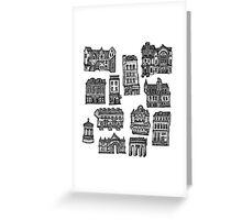 Little Edinburgh (TILED PATTERN) Greeting Card