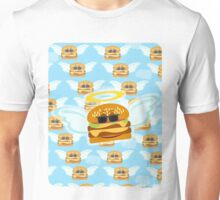 Heavenly Flying Cheeseburger Unisex T-Shirt