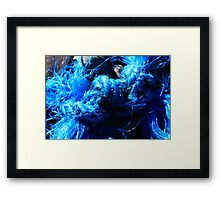 Blue Knot - Seaside Abstract Framed Print
