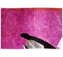 Something Pink - Seaside Abstract Poster