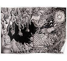 'Morphic Resonator'- pencil collaborative work Poster