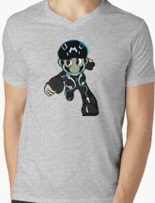 Mario Tron 2 Mens V-Neck T-Shirt