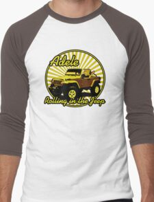 Adele - Rolling In The Jeep Men's Baseball ¾ T-Shirt