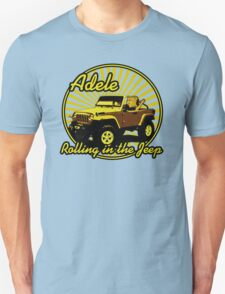 Adele - Rolling In The Jeep Unisex T-Shirt