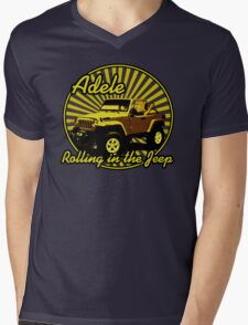 Adele - Rolling In The Jeep Mens V-Neck T-Shirt