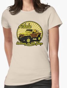 Adele - Rolling In The Jeep Womens Fitted T-Shirt