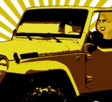Adele - Rolling In The Jeep Sticker
