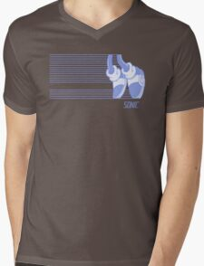 Sonic Moonwalker Mens V-Neck T-Shirt