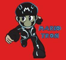 Mario Tron 1 Baby Tee