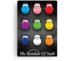 The Rainbow Of Yoshi Canvas Print