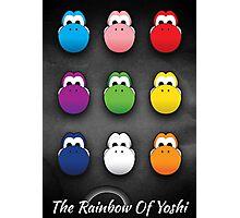 The Rainbow Of Yoshi Photographic Print