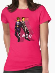Cage Womens Fitted T-Shirt