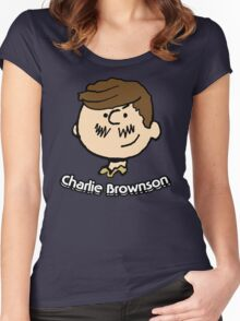 Charlie Brownson Women's Fitted Scoop T-Shirt