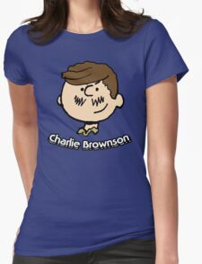 Charlie Brownson Womens Fitted T-Shirt