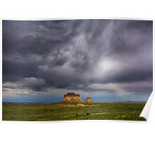 Pawnee Buttes Poster