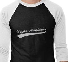 Vegan Musician Men's Baseball ¾ T-Shirt