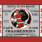Santa Cape Cod Cranberry Label by LABELSTONE