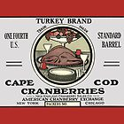 Thanksgiving Turkey Crate Label by LABELSTONE
