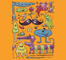 Monster Mash Moustache by George Berlin