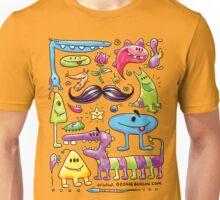 Monster Mash Moustache Unisex T-Shirt