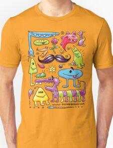 Monster Mash Moustache T-Shirt