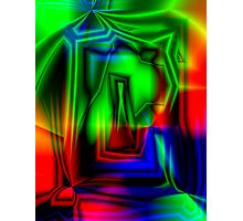 Crazy Colorful Photographic Print