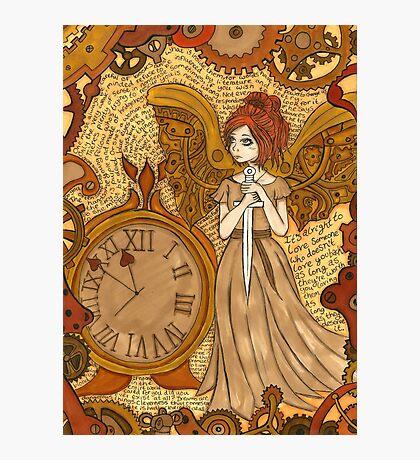 Clockwork Angel Photographic Print