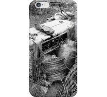 Out to pasture (sketch) iPhone Case/Skin