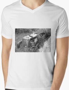 Out to pasture (sketch) Mens V-Neck T-Shirt