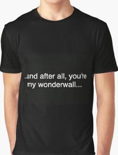 Wonderwall Graphic T-Shirt