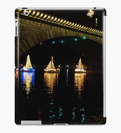 Christmas Sail Boats iPad Case/Skin