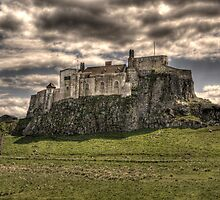 Lindisfarne Castle. by sbpphotography