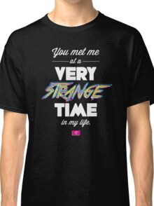 Very Strange Time (Fight Club) - Quote Series Classic T-Shirt
