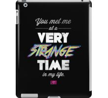 Very Strange Time (Fight Club) - Quote Series iPad Case/Skin