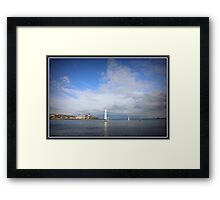 Beacon Cove - Port Melbourne Framed Print