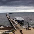 Busselton Jetty In Winter by Rick Playle