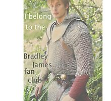 Bradley James - Merlin - Prince Arthur by SideoftheAngels
