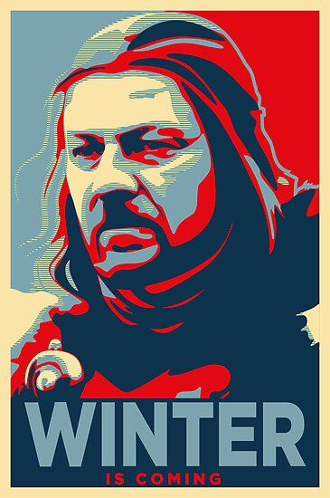 Ned Stark - Winter Is Coming by liquidsouldes