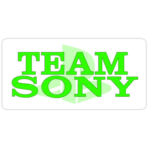 Team Sony (White/Green) by revsoulx3