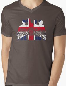 The Who's (Distressed) Mens V-Neck T-Shirt