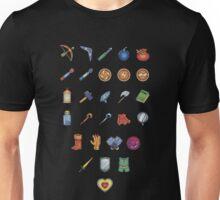 Zelda Inventory 2 Unisex T-Shirt