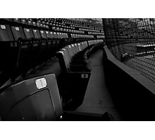 Front Row Seats Photographic Print