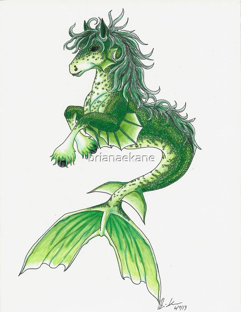 Kelpie Mystical Sea Monster by Briana Kane