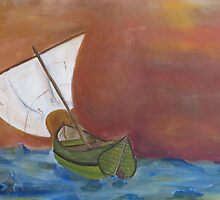 Stormy Seas by JackofallTrades
