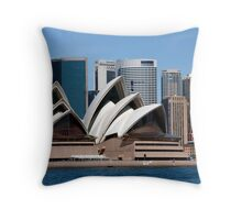 Six Shells Of Sydney Throw Pillow