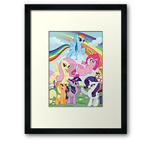 My Little Pony Print Framed Print
