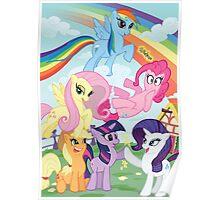 My Little Pony Print Poster