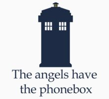 Doctor Who - The angels have the phonebox One Piece - Long Sleeve