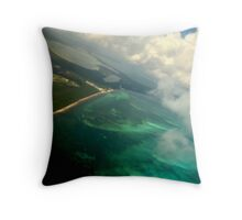 Aerial view 1 Throw Pillow