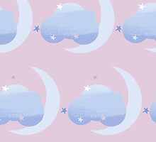 Good Night Pattern by rusanovska